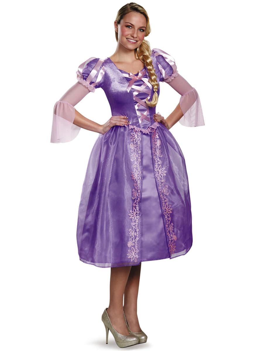 Disfraz de Rapunzel para mujer. Entrega rápida | Funidelia