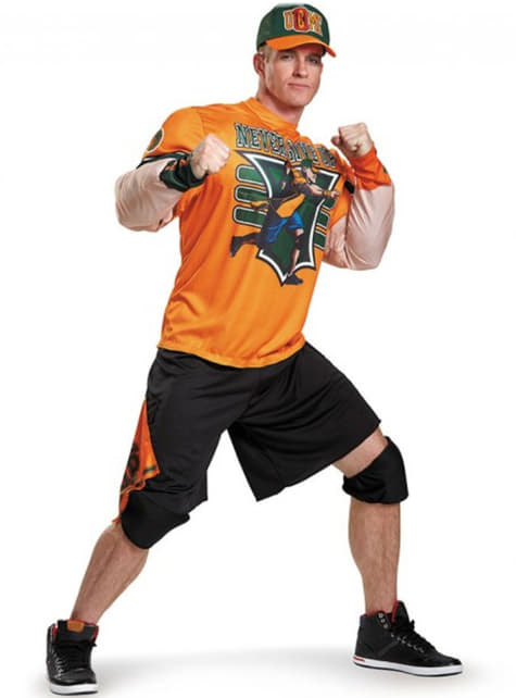 Disfraz de John Cena WWE para hombre