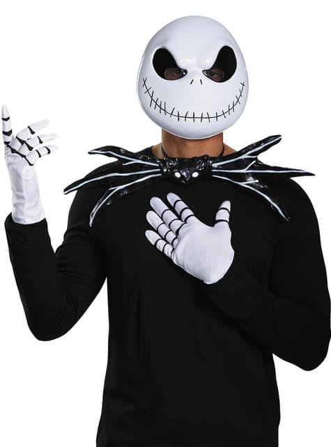 Adult's Jack Skellington The Nightmare Before Christmas Mask Accompaniments Kit