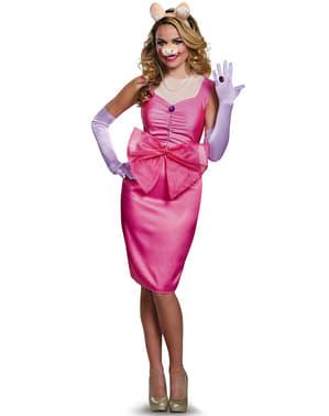 Disfraz de La Cerdita Peggy deluxe para mujer