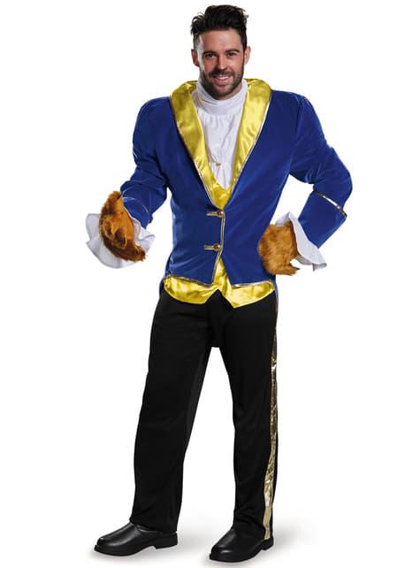 Disfraz de Bestia La Bella y la Bestia prestige para hombre