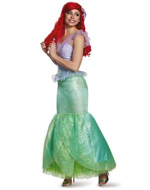 Disfraz de Ariel prestige para mujer
