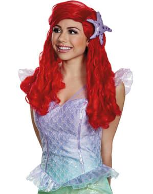 Peruca de Ariel para mulher