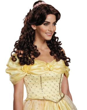 Skønheden og udyret Belle paryk til kvinder