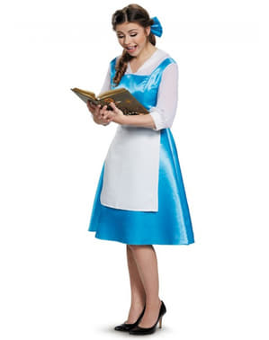 Costume da Belle e La Bestia blu per donna
