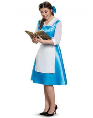 Déguisement bleu Belle La Belle et le Bête femme