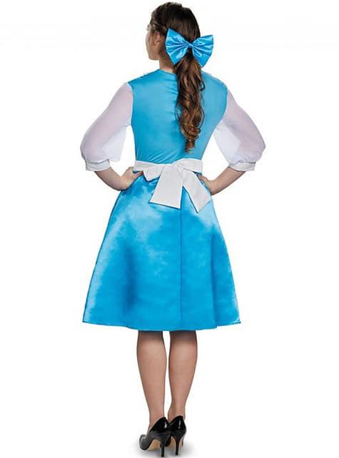 Disfraz de Bella La Bella y la Bestia azul para mujer - mujer