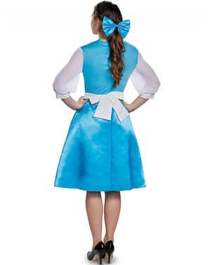 Blå Belle Skjønnheten og Udyret Kostyme Dame