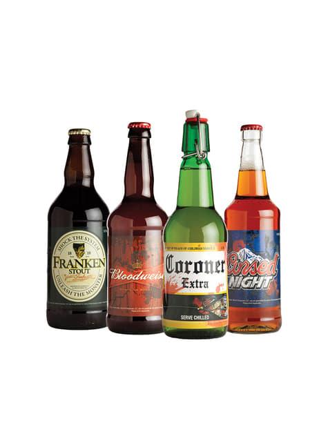 Autocolante de cervejas