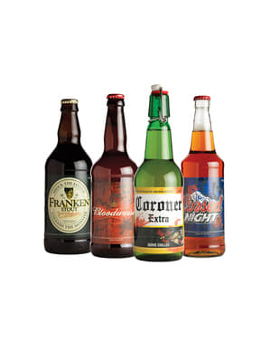 Abțibild sticle de bere