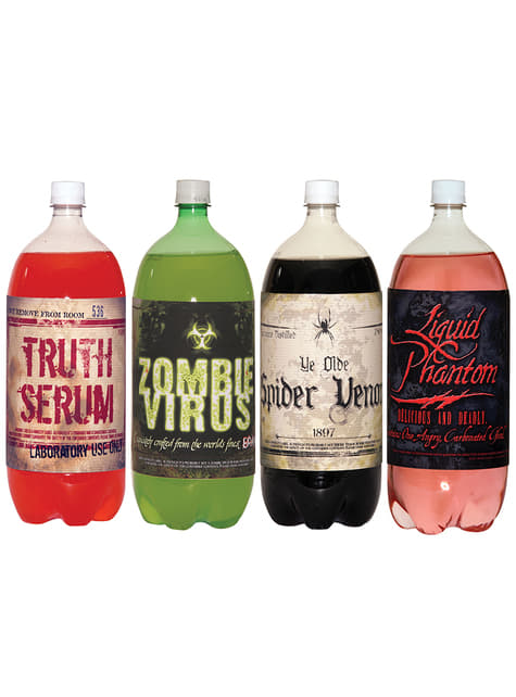 Autocolante de soda zombie