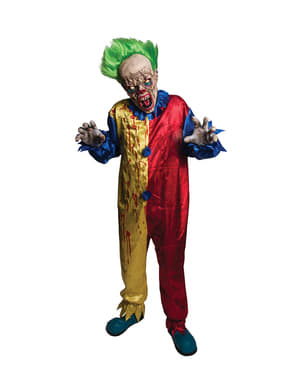 Mit Blut beflecktes Clown Kostüm für Herren