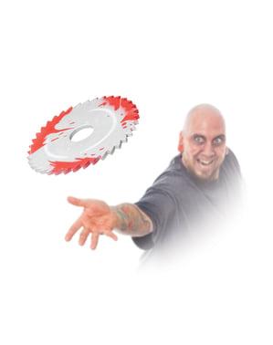 Disco de radial ensangrentado