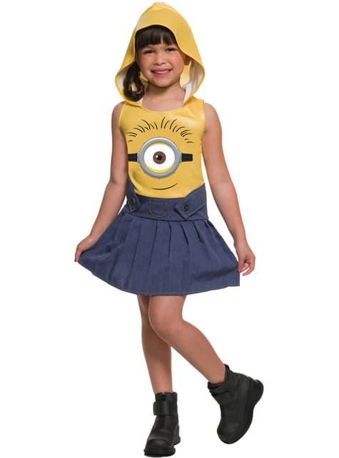 Girl's Fun Minion Costume