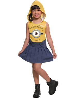 Girl's Fun Minion Costume