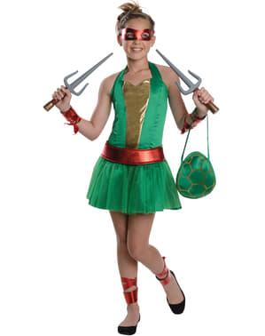 Raphael Ninja Turtle Kostüm für Jugendliche