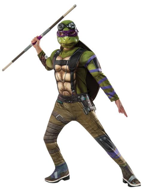 Disfraz de Donatello Tortugas Ninja 2 deluxe para niño