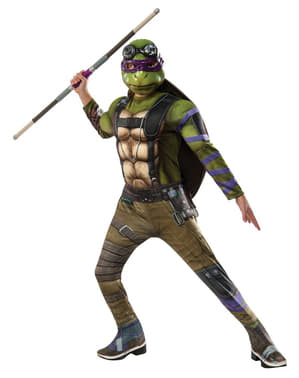Donatello The Ninja Turtles 2deluxe Kostuum voor jongens