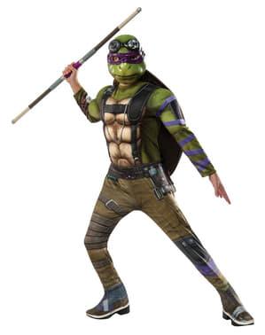 Fato de Donatello Tartarugas Ninja 2 deluxe para menino