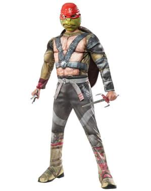 Costum Raphael Țestoasele Ninja 2 deluxe pentru băiat