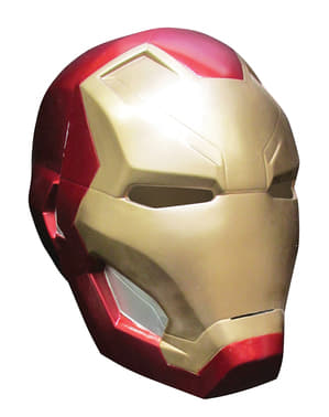 Casco de Iron Man Capitán América Civil War para hombre