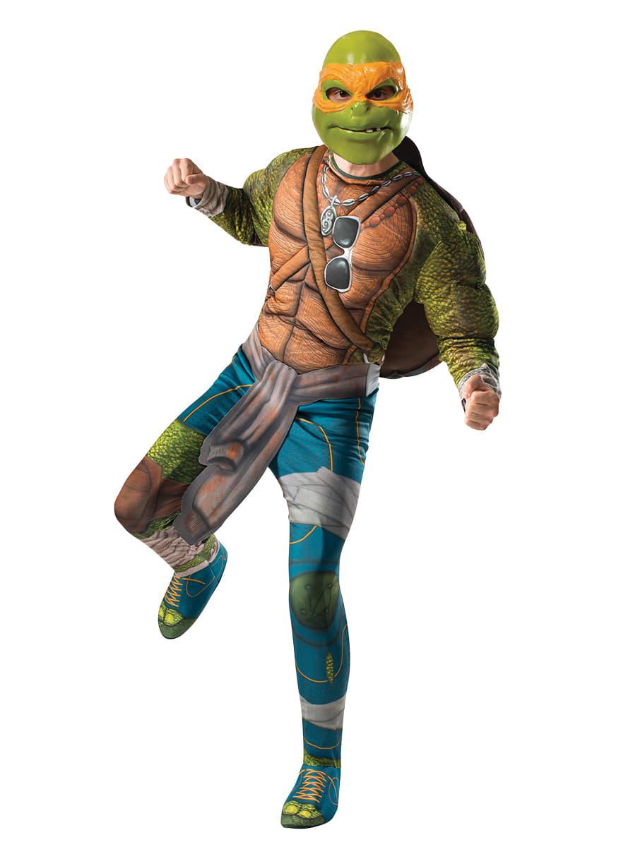 Costume michelangelo les tortues ninja 2 homme funidelia - Tortue ninja michael angelo ...