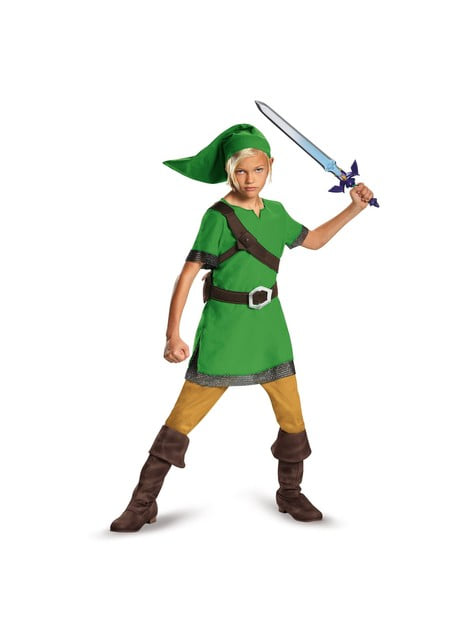 Maskeraddräkt Link classic för pojke
