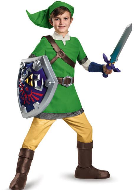Disfraz de Link deluxe para niño