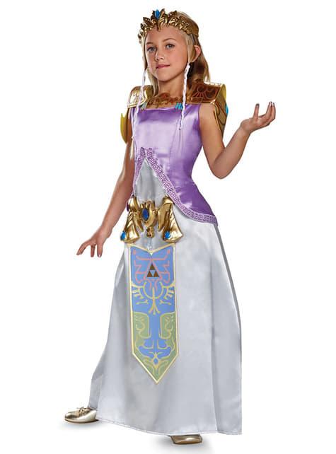Disfraz de Zelda deluxe para niña