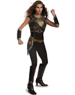 Fato de Garona World of Warcraft deluxe para mulher