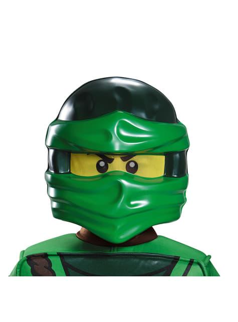 Máscara de Lloyd Lego para menino