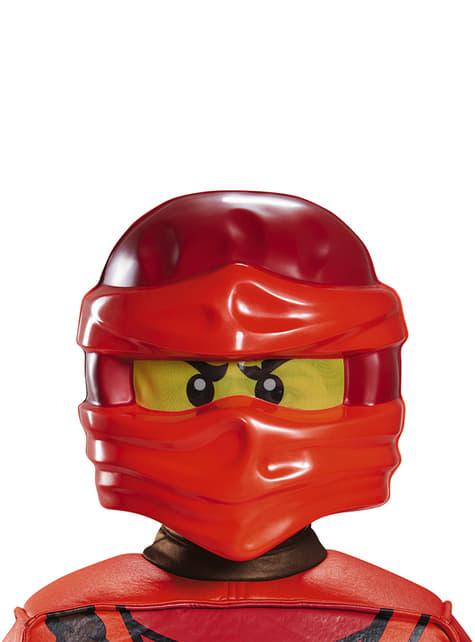 Máscara de Kai Lego para niño