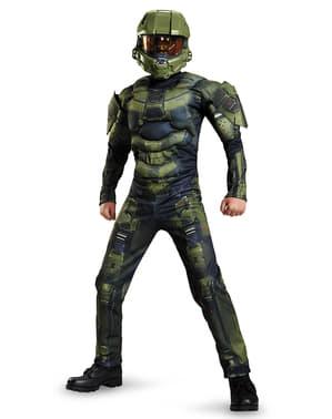 Muskulöses Master Chief Kostüm für Jungen