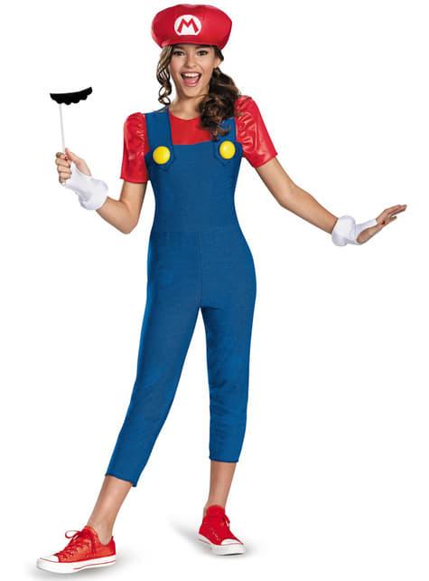 Fato de Mario Bros para adolescente