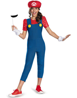 Mario Bros Kostyme Tenåring
