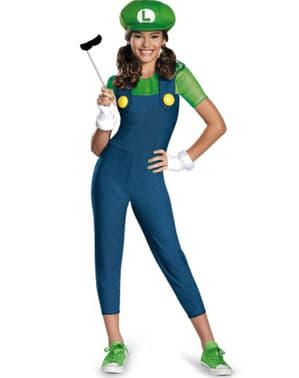 Costum Luigi pentru adolescenți