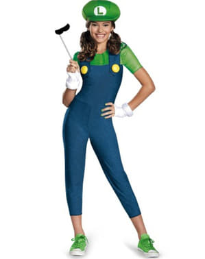 Maskeraddräkt Luigi för ungdom