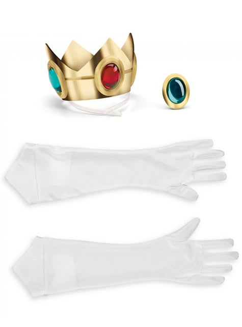 Kit de accesorios Princesa Peach para mujer