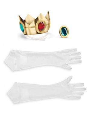 Kit accessori Principessa Peach per donna