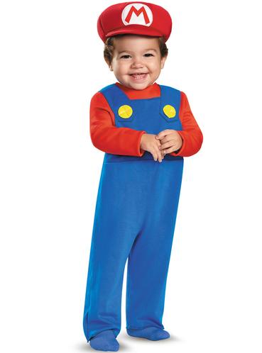 babys super mario costume - Bebe Mario