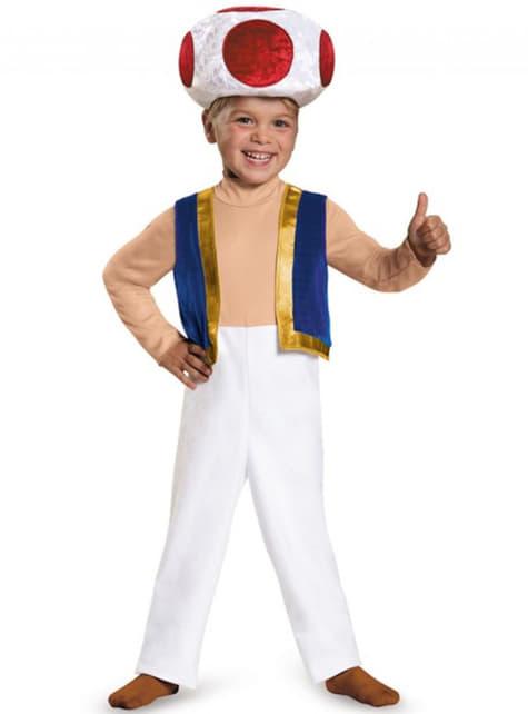 Chlapecký kostým Toad Super Mario