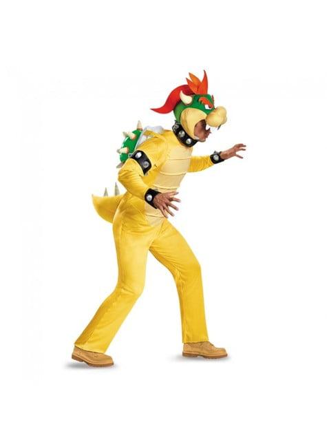 Disfraz de Bowser Super Mario para hombre