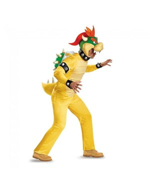 Man's Bowser Super Mario Costume