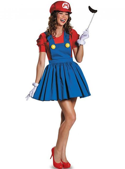 Kostum Super Mario Sparkly Wanita