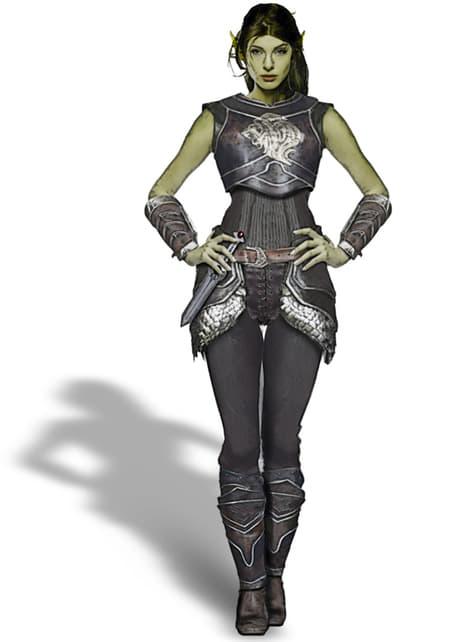 Disfraz de Garona World of Warcraft prestige para mujer