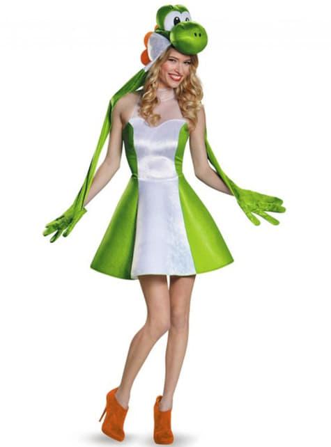 Yoshi Kostüm für Damen