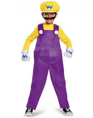 Wario Kostüm für Jungen