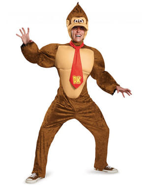 Disfraz de Donkey Kong deluxe para hombre