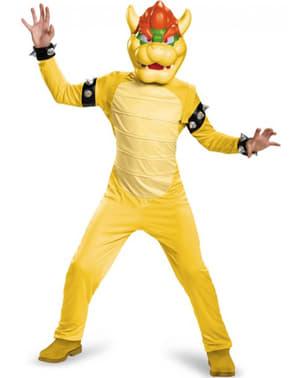 Boy's Bowser Super Mario Costume