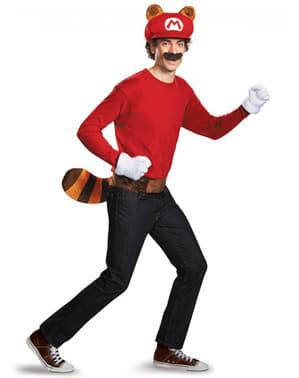 Adult's Deluxe Racoon Mario Kit
